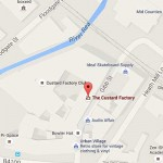 Custard Factory Birmingham map