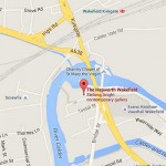 Hepworth Gallery Wakefield map